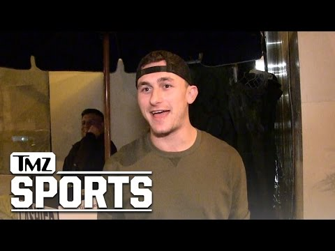 Johnny Manziel: Here's My Plan to NOT Be a Douche in 2017   TMZ Sports