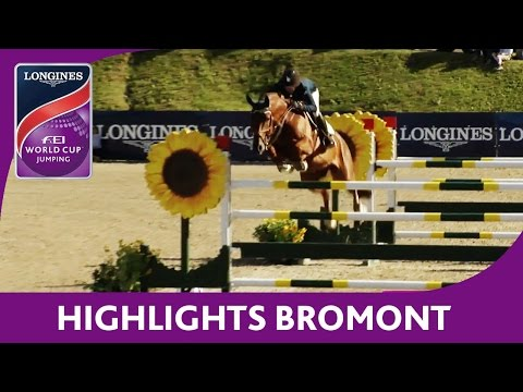 Highlights  | Longines FEI World Cup™ Jumping 2016/17 | Bromont (CAN)