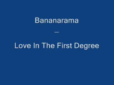Bananarama   Love In The First Degree 1987