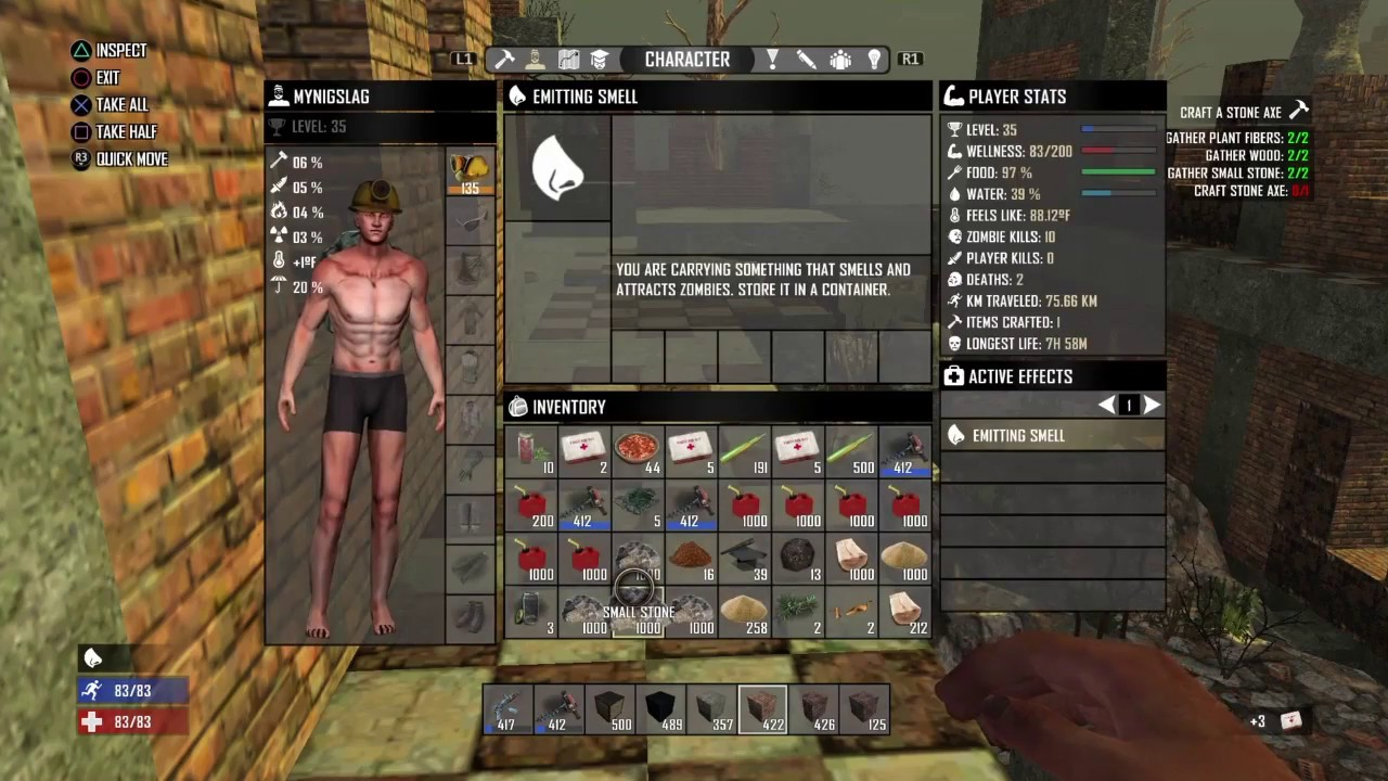 Newest Update 1.08 Patch 6, 7 Days To Die (12/14/16) Ps4