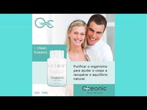 +CLEAN -   Clorella, Spirulina, Leticina de Soja e Vitamina E em Capsulas Oceanic