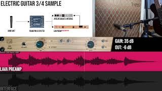 TIERRA Audio LAVA Preamp | ELECTRIC GUITAR Samples