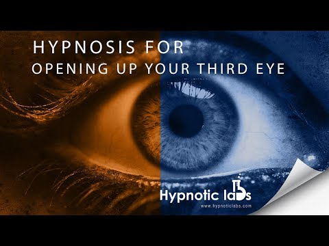 Hypnosis for Activating (or Opening) your Third Eye