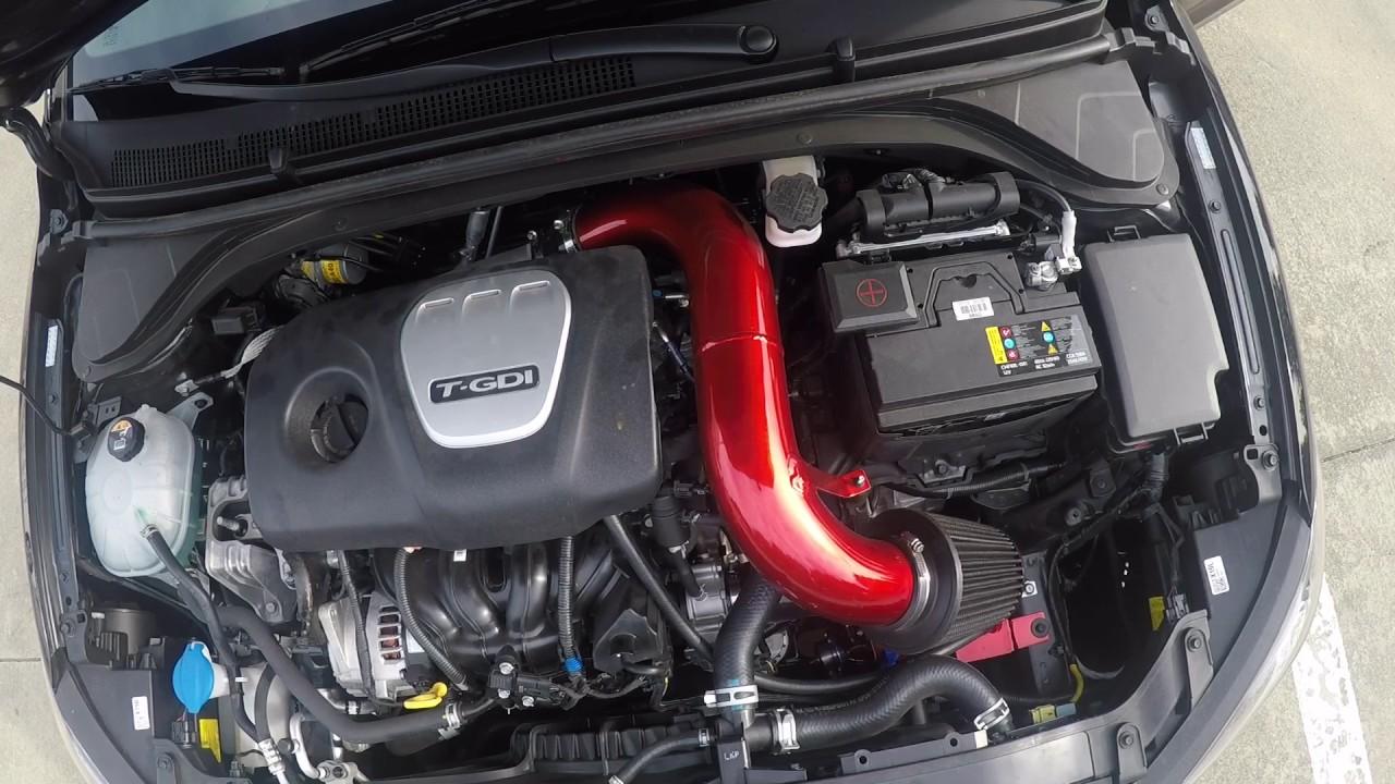 2017 Hyundai Elantra Sport Tork Big Gulp Intake w/ GReddy ...