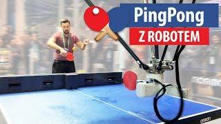 ROBOT gra ze mną w Ping Ponga