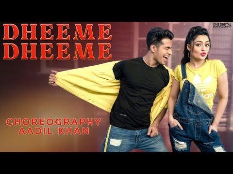 Dheeme Dheeme   Neha Kakkar & Tony Kakkar   Aadil Khan Choreography   Benazir Shaikh #dheemedheeme