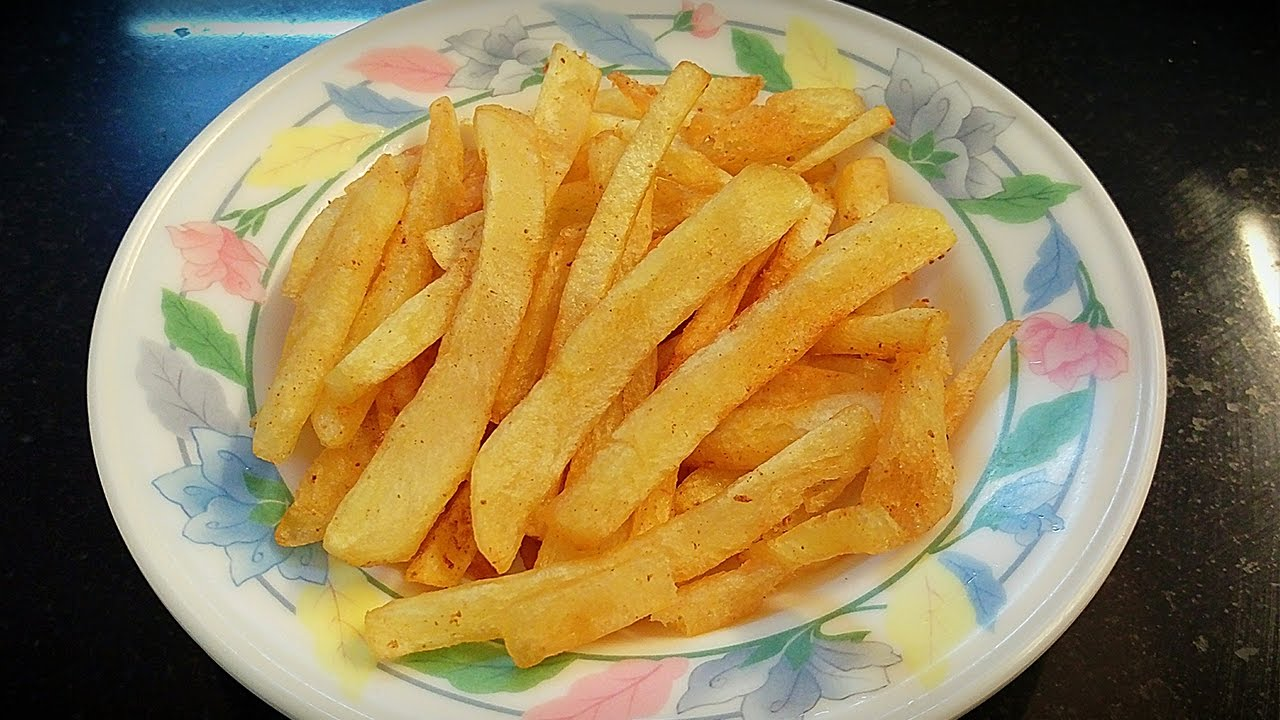 Crispy Potato French Fries Homemade Recipe In Hindi By Farheen Khan