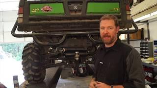 DIY Quiet Muffler Kit for John Deere Gator 625i ATV UTV side by side