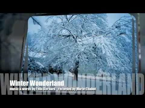 Winter Wonderland Marie Chabot (cover of classic Christmas song)