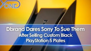 Dbrand Dares Sony To Sue Them After Selling Custom Black PS5 Plates