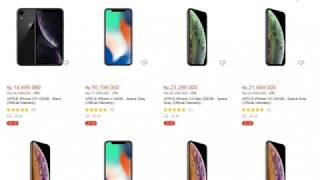 Gambar cover Daftar Harga Hp Apple iPhone Update Terbaru 2019
