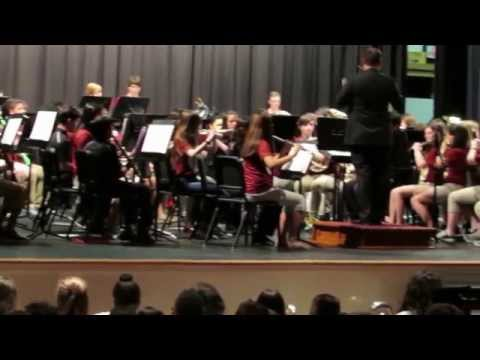 Winkler Middle / J. N. Fries School Band -- In The Court of the King.