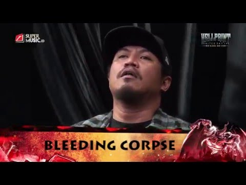 BLEEDING CORPSE Live at HELLPRINT UNITED DAY IV