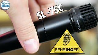 Behringer SL 75C Instrument Microphone Review (vs Shure SM-57 Comparison)