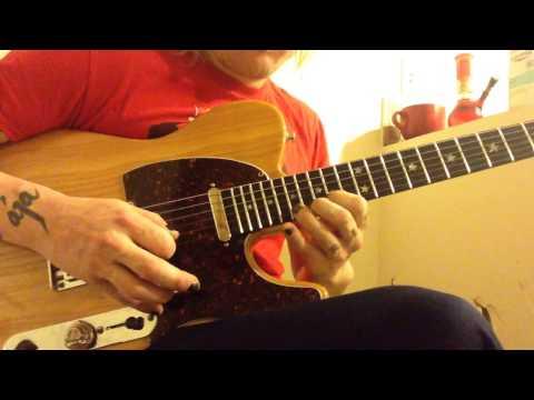 PENNY LANE piccolo trumpet solo on guitar