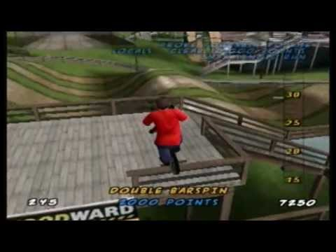 Let's Play Dave Mirra Freestyle BMX 2 Level 1: Woodward Camp