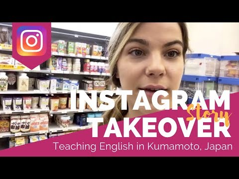 Teaching English in Kumamoto, Japan #3 - TEFL Social Takeover with Kelsie Foster