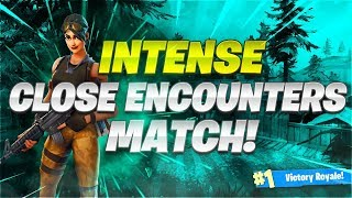 Intense Close Encounter Match - Wont Believe The Ending (Fortnite Battle Royale )