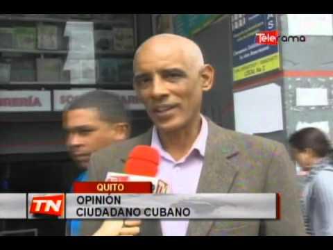 Cubanos tienen criterios divididos respecto al pedido de visa