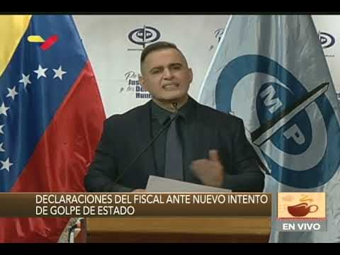 Fiscal venezolano Tarek William Saab solicita a Colombia extradición de Clíver Alcalá, 27/03/2020