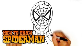 How to Draw Spiderman - Step by Step Video