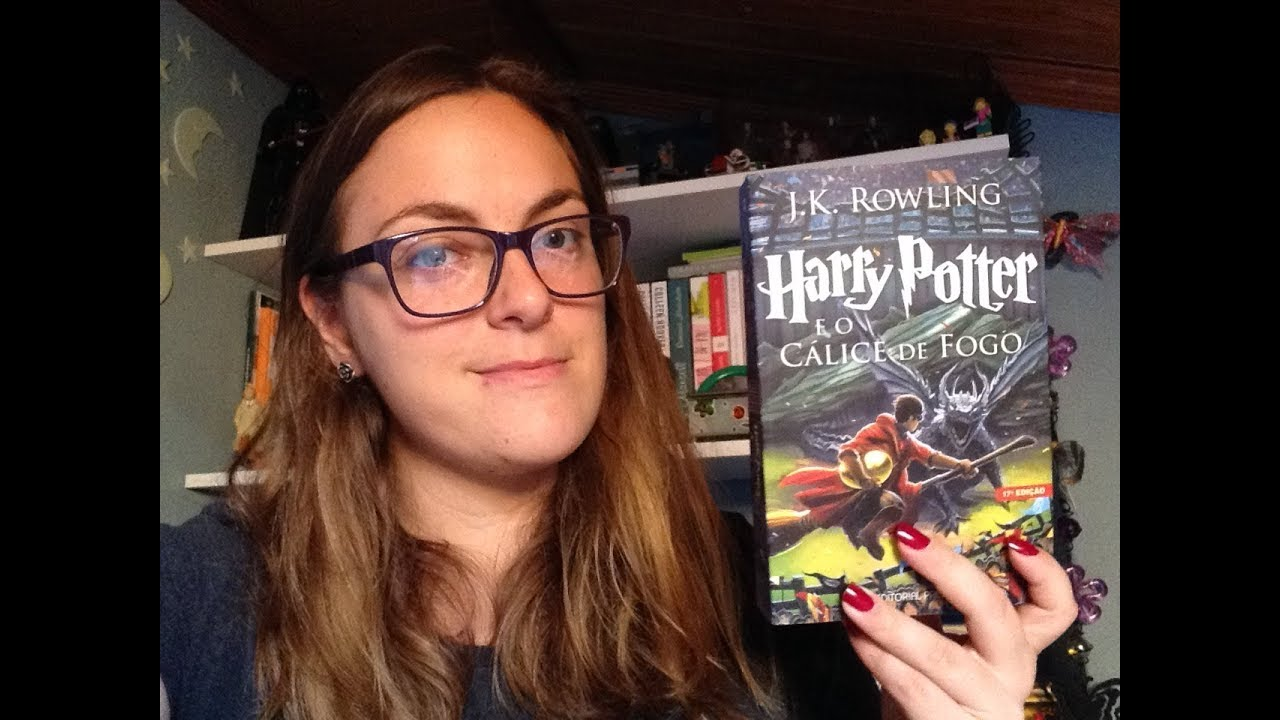 #VAMOSLERHP   Harry Potter e o Cálice de Fogo de JK. Rowling - YouTube