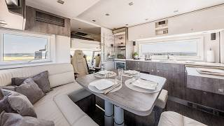 exclusive Made in Germany Luxury Motor homes MAGELLANO Edition 1 - Mercedes Actros 1842 GigaSpace