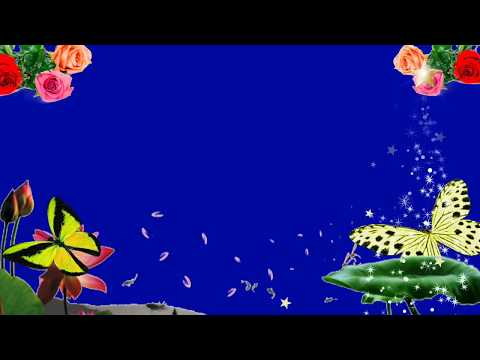Amazing chroma key effects//butterfly and flower green screen effects//snow falling green screen thumbnail