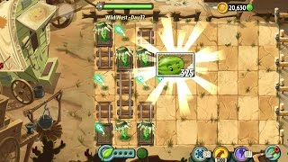 Plants vs Zombies 2 Wild West - Day 12 || Gameplay Walkthrough