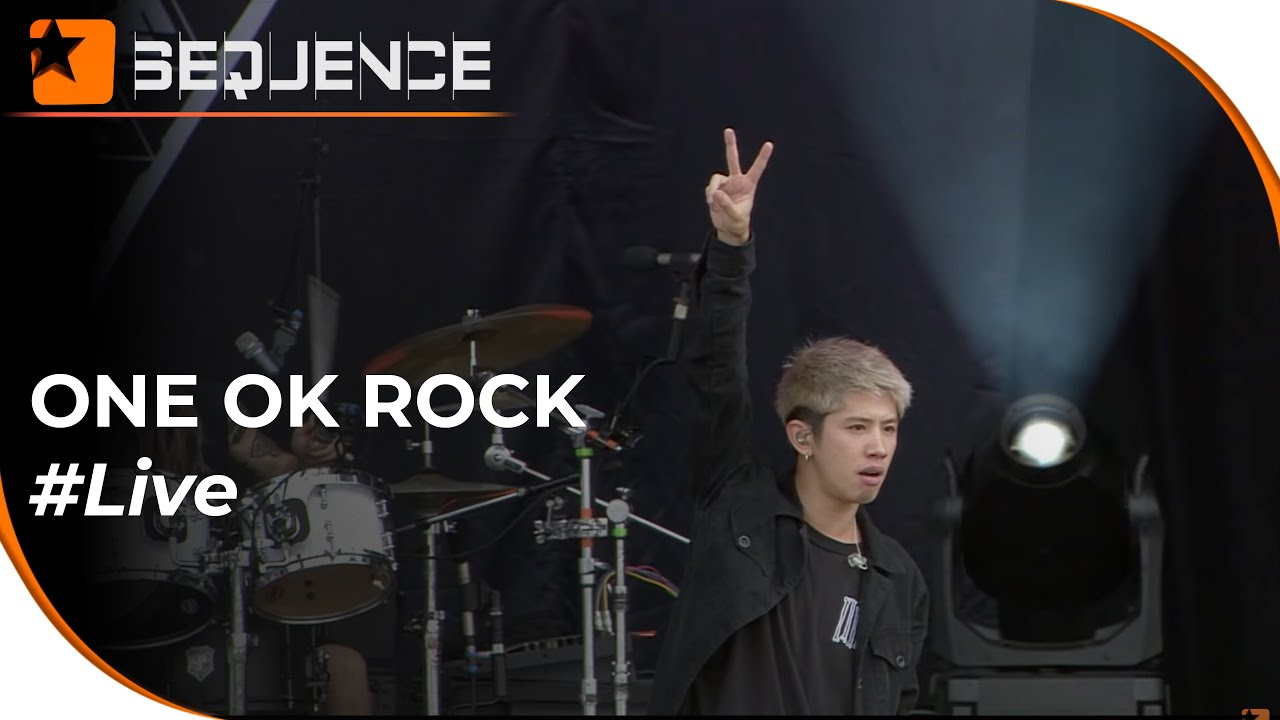 """One Ok Rock """"The Beginning"""", """"Mighty long fall"""" Live"""