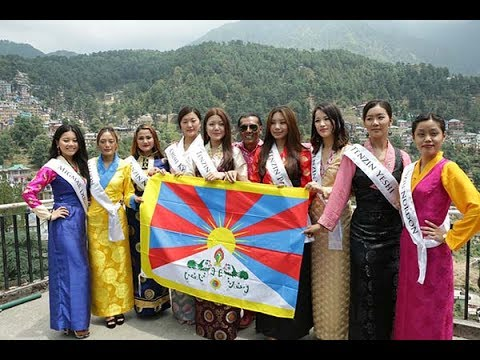 2017 Miss Tibet beauty Pageant Press Conference