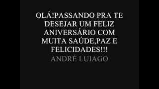 Baixar PARABENS DJ ANDRE LUIAGO.wmv