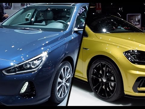 2017 Hyundai i30 vs. 2017 Volkswagen Golf