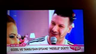 Evleneceksen Gel Güzel Gurban - Tansu Detone Mesele Şarkısı Düet - O Ses Türkiye 17 Şubat 2016