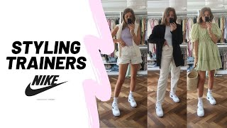 STYLING NIKE AIR FORCE 1 / 10 Spring Outfit Ideas / Styling Trainers / Sinead Crowe