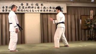 日本拳法協会 猪狩元秀「空理之形」