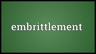 Embri Ement Meaning