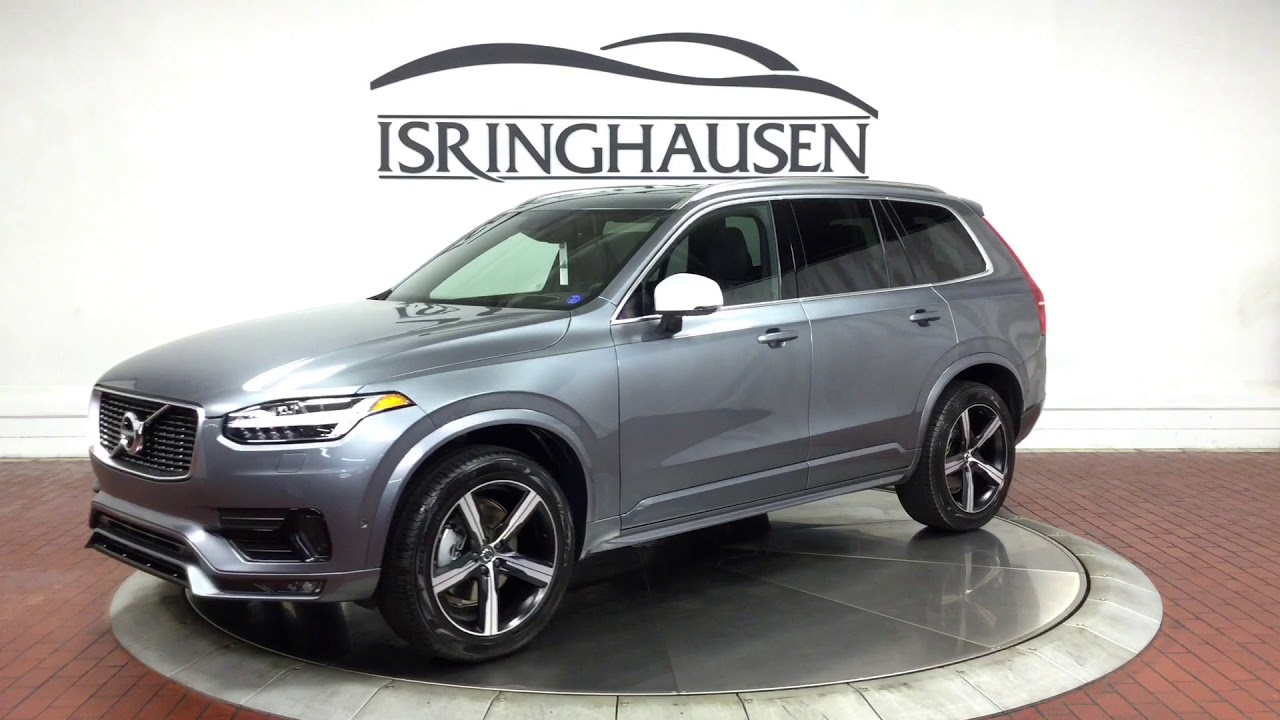 2019 Volvo XC90 T6 AWD R-Design Polestar in Osmium Grey Metallic - 444158