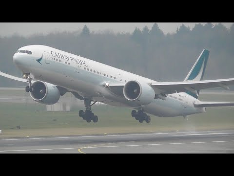 45 Minutes of Plane Spotting at Zurich Airport | Heavy Rotations + More!