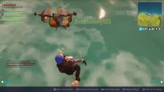 I Was Running On The Water - From 3/29/2018 - Fortnite Squads