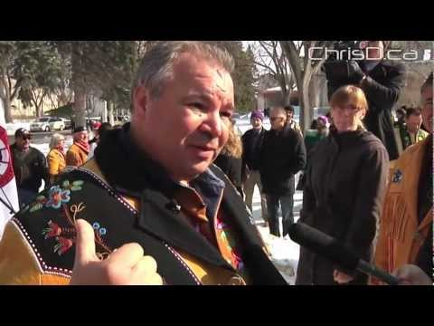 Manitoba Métis Celebrate Legal Victory - March 9, 2013 - Winnipeg, Manitoba