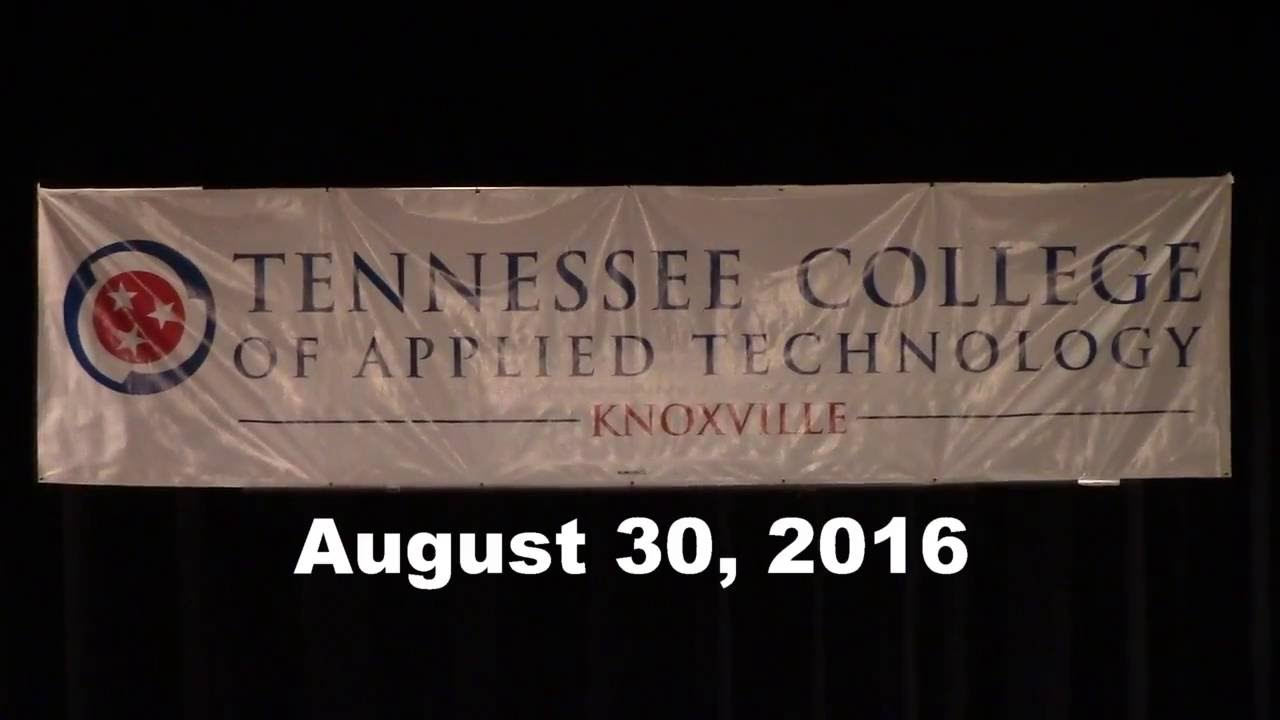 Tcat Knoxville Graduation 2016 Youtube
