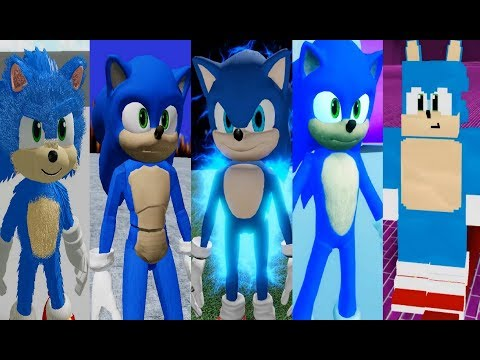 Movie Sonic In Sonic Roblox Fangames 2 Youtube