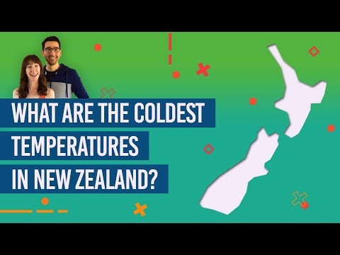 What Are The Coldest Temperatures In New Zealand?