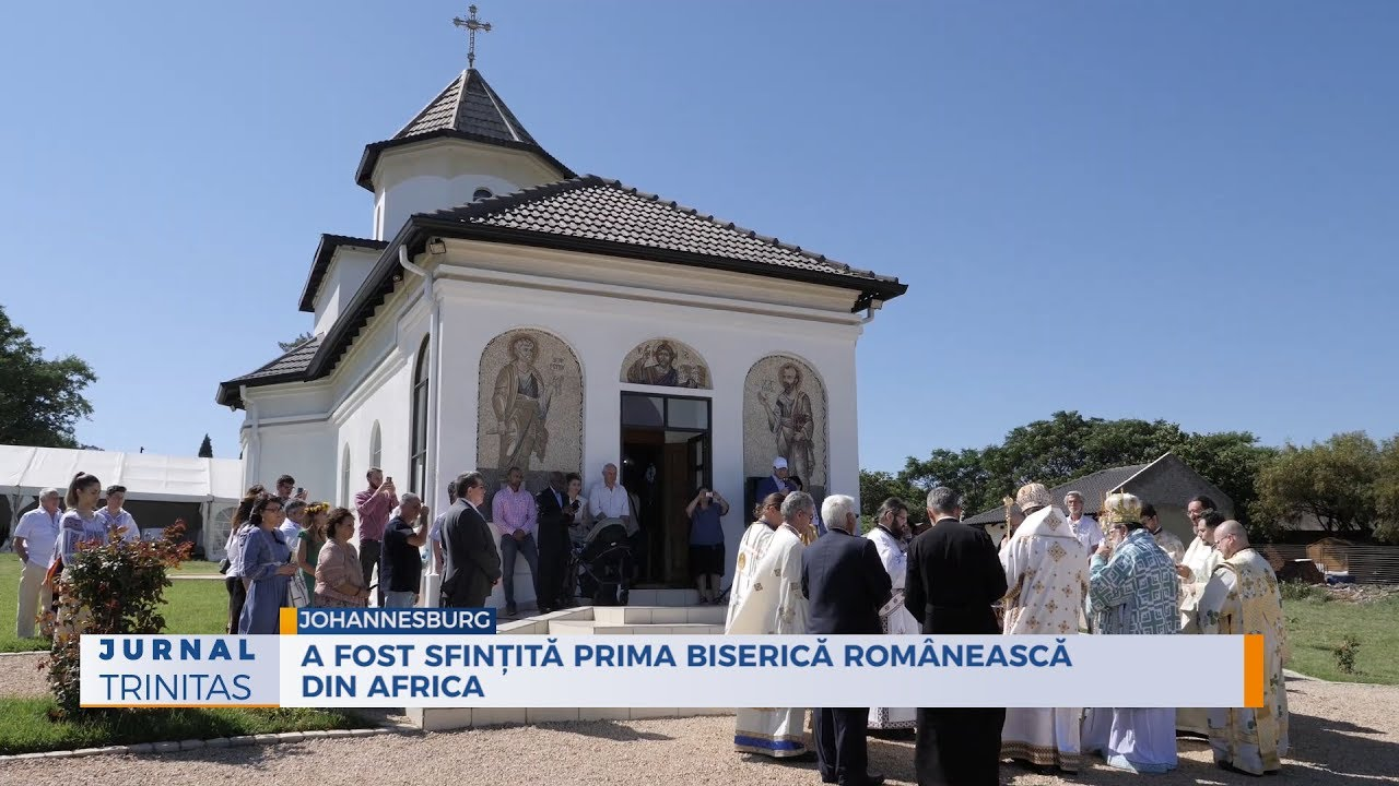 A fost sfințită prima biserică românească din Africa - YouTube