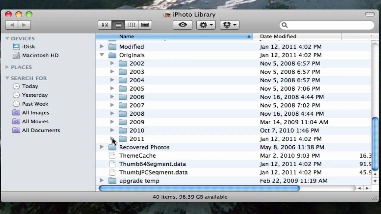 Where Are My iPhoto Photos Stored On My Hard Drive?