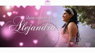 Alejandra's Quince Highlight 👸