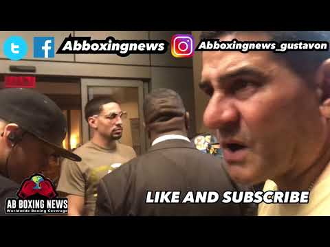 Breaking News : Angel Garcia quits boxing! Gets emotional over Danny Lost! Rematch Porter!