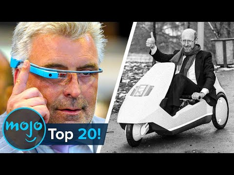 Top 20 Biggest Tech Product Fails of All Time!!
