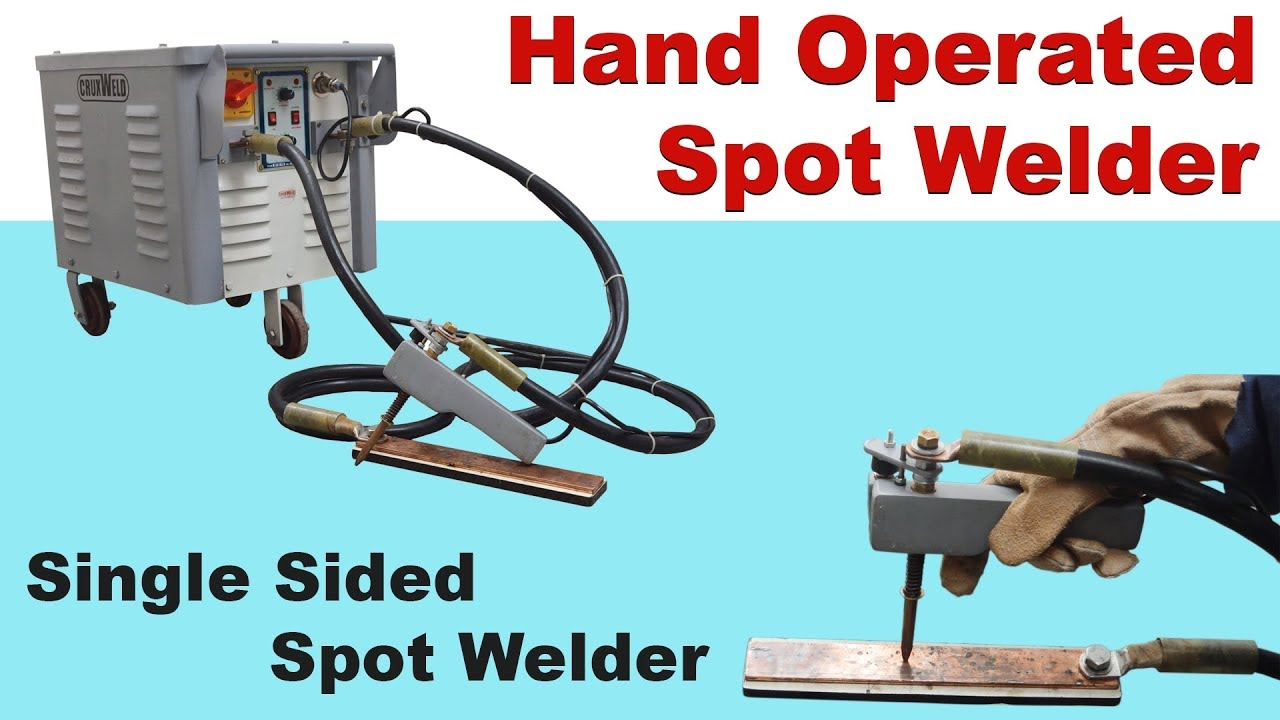 Hand Operated Spot Welder Single Side Hand Spot Welding